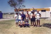 Equipe de Águas Abertas Perth 1991.