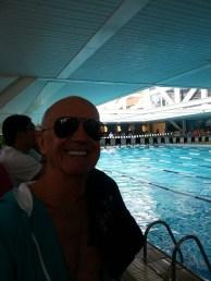 Orselli com sorriso de multi recordista
