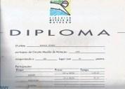 Meu diploma PEBA do Circuito Mesbla