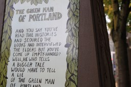 The Green Man of Portland