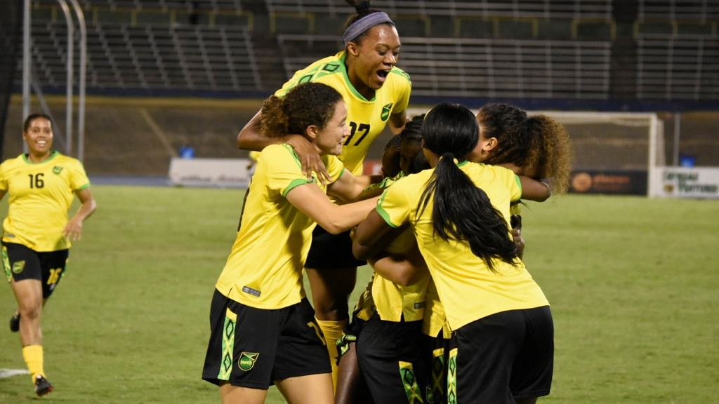 a7b70ba1c40 October 17, 2018: Jamaica's Reggae Girlz create history by becoming the  first Caribbean team to reach the FIFA Women's World Cup. They defeated  Panama 4-2 ...