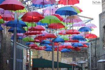 Umbrella Display in Borough Market