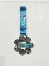 Six Star Marathon Medal - The Ultimanium