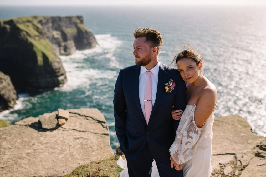 Cliffs Of Moher Elopement Ireland adventure elopements