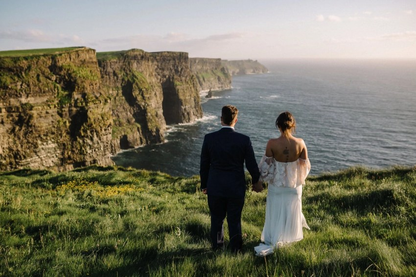 Elopement on the Cliffs Of Moher