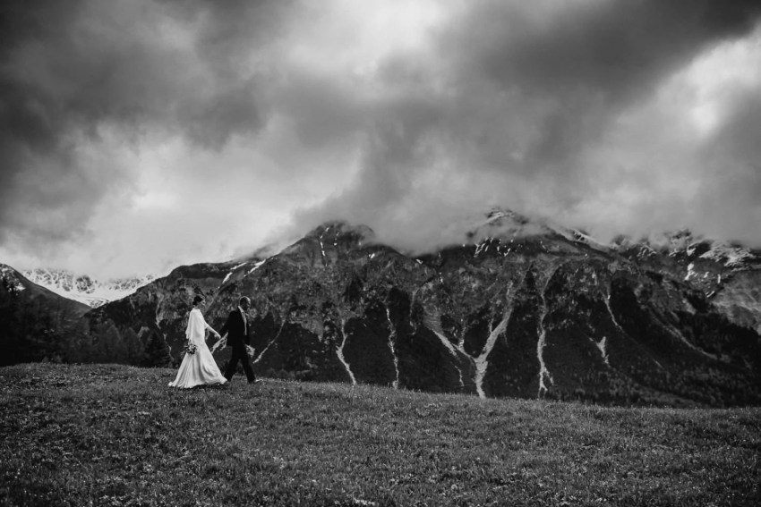 Swiss Alps wedding Switzerland wedding photography
