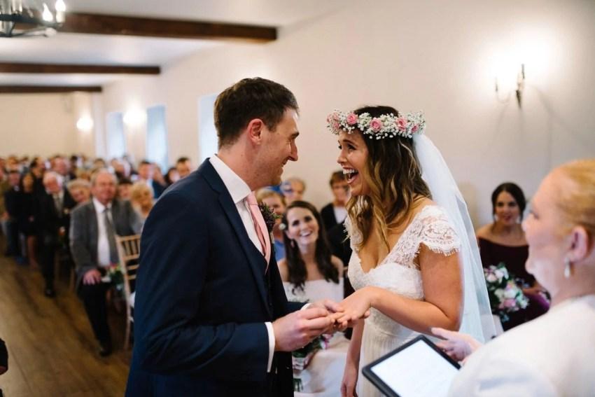 Documentary wedding photographer Larchfield Estate Northern Ireland