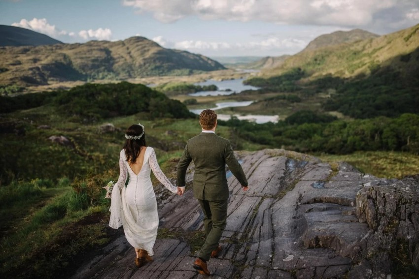 Kilarney Elopement photographer Kilarney National Park Ireland