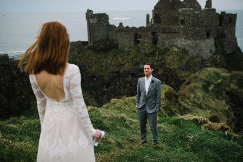 Dunluce Castle Elopement Northern Ireland Irish elopement_0022.jpg