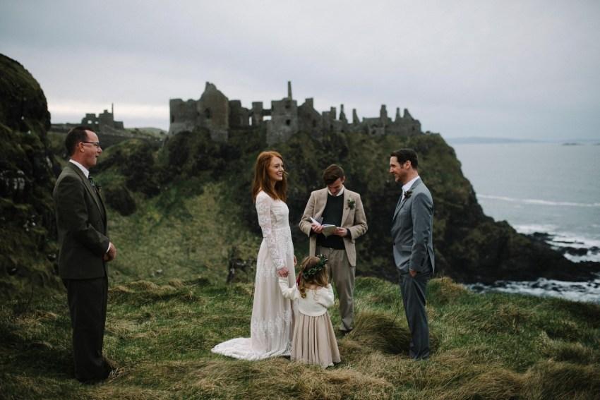 Dunluce Castle Elopement Northern Ireland Irish elopement_0036.jpg