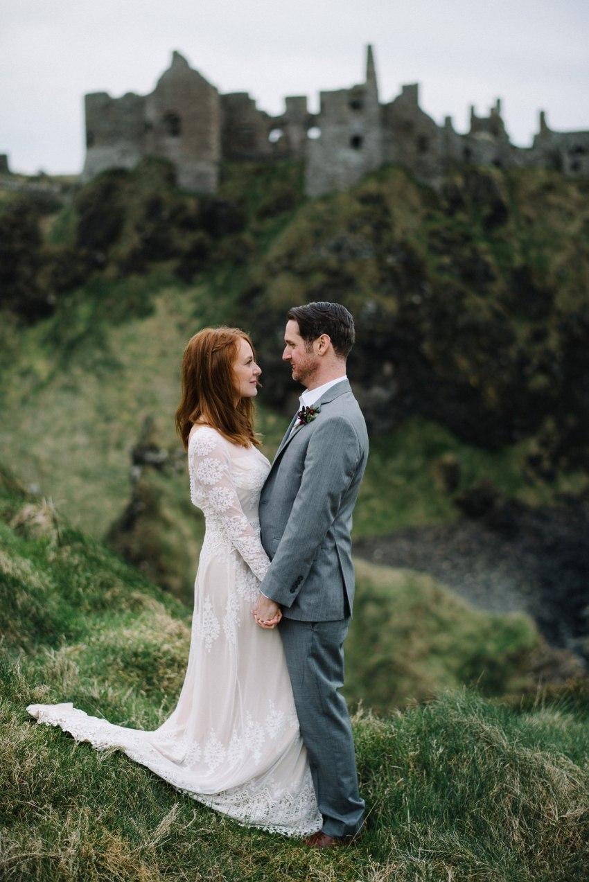 Dunluce Castle Elopements Northern Ireland Irish elopement_0063.jpg