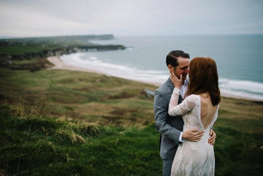 Dunluce Castle Elopement Northern Ireland Irish elopement_0072.jpg