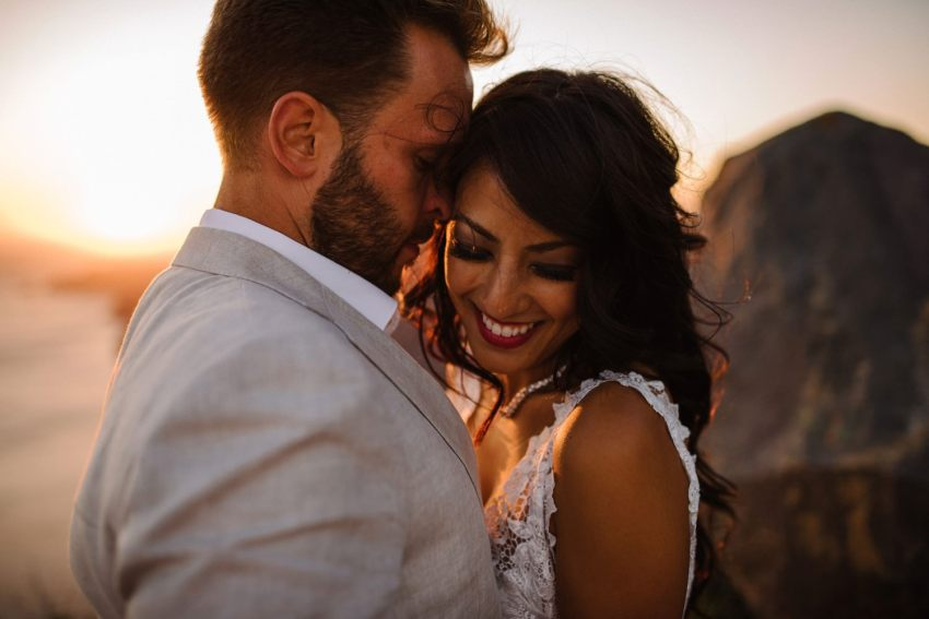 Intimate Santorini Destination Wedding