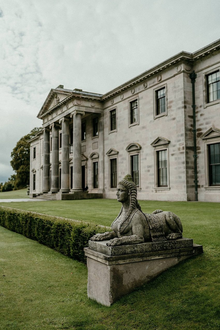 Ballyfin Demesne Wedding Irish destination wedding