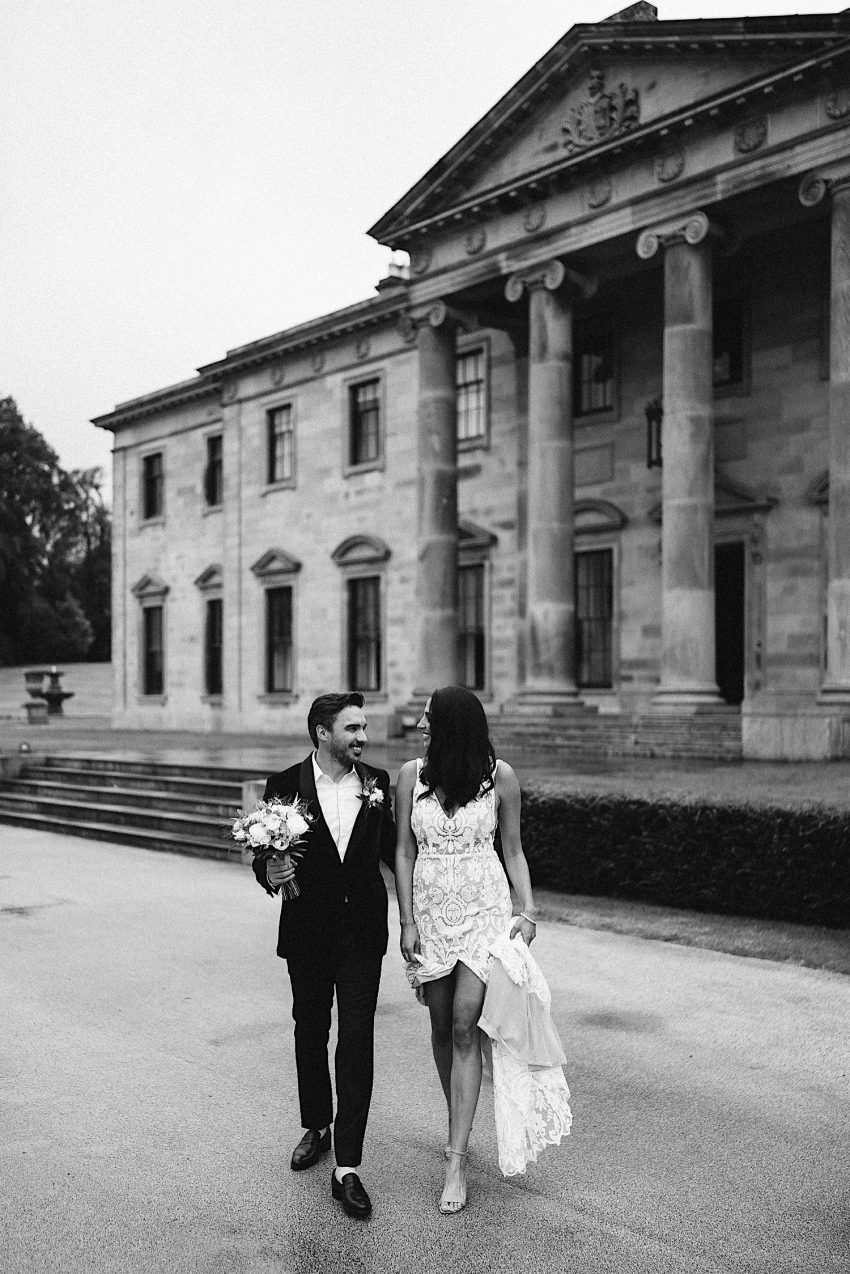 Ballyfin Demesne Weddings Irish destination wedding