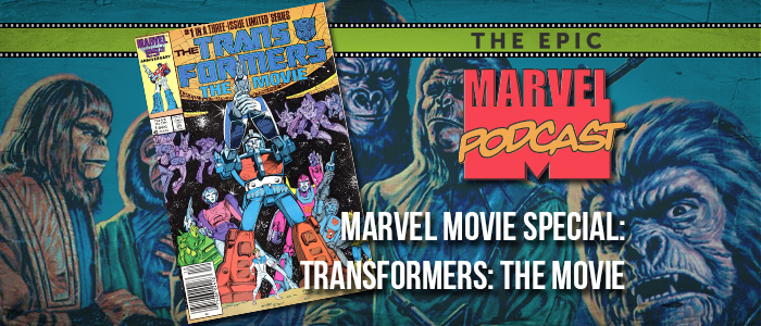Marvel Movie Special: Transformers: The Movie
