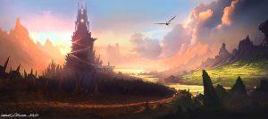 Camelot spire por Michael Richards