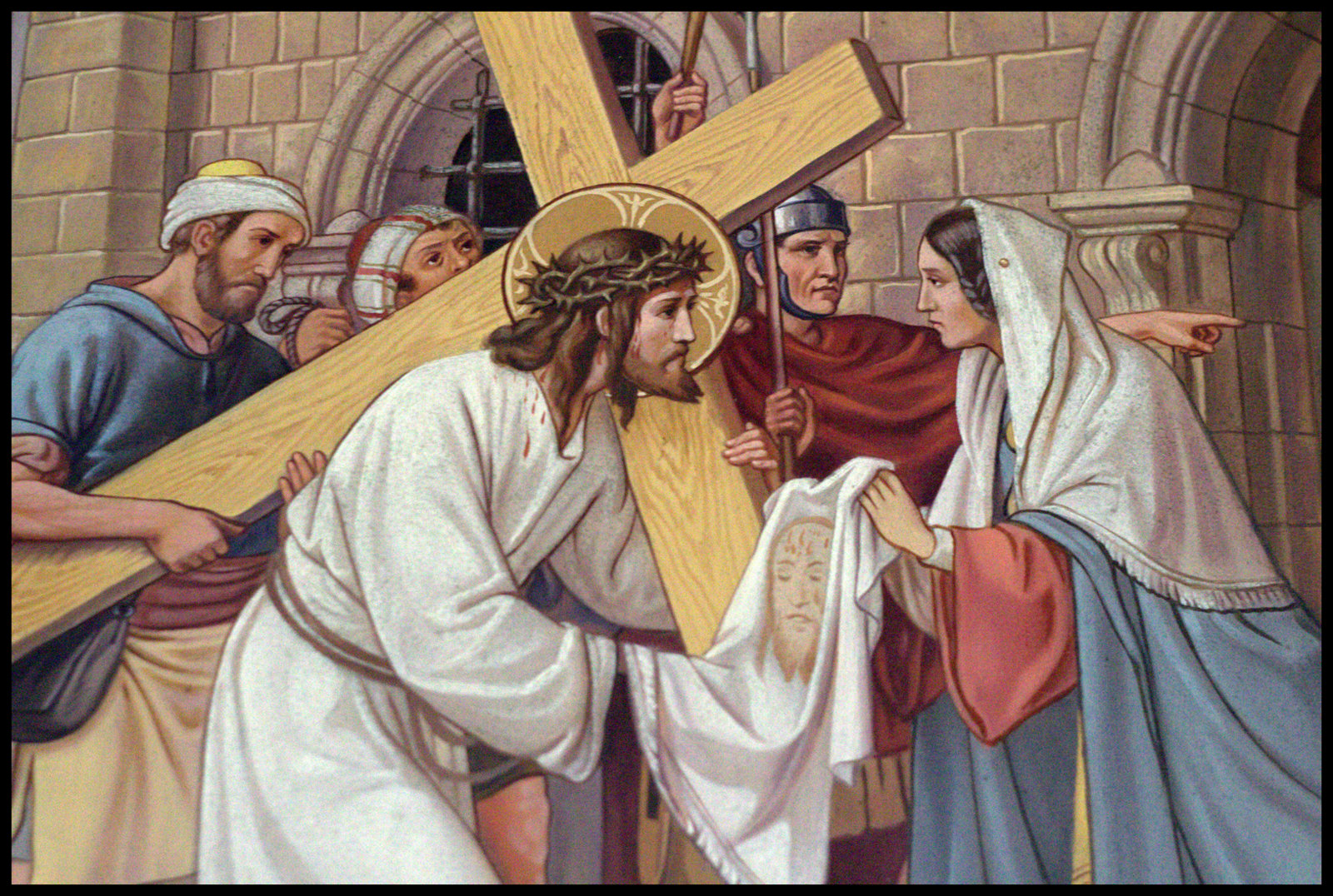 This is a graphic of Stations of the Cross for Youth Printable regarding 14th