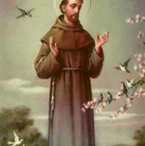 Immaculate Mary and St. Francis of Assisi