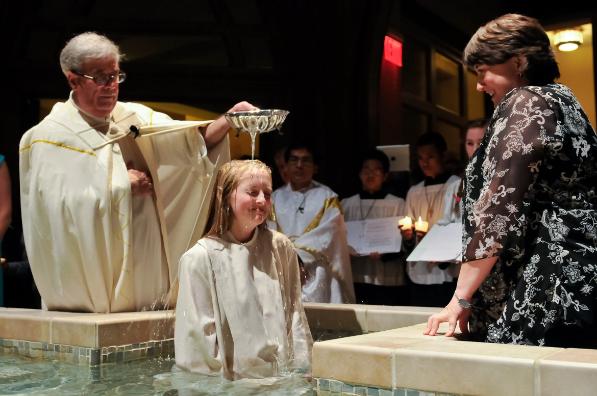All baptized Christians can perform an exorcism.