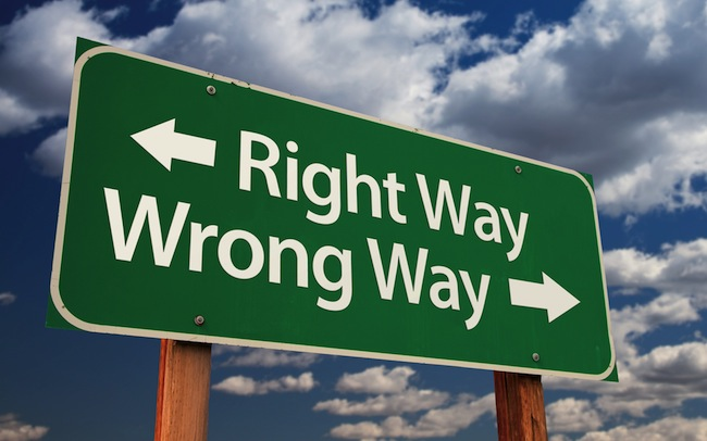 True or false: If an action is wrong, it is wrong in every situation.