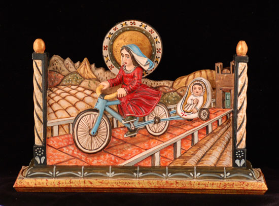 Madonna del Ghisallo by Gustavo Victor Goler