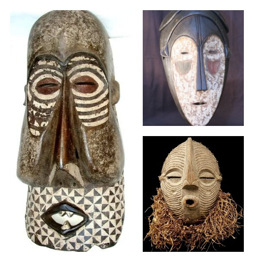 There is nothing wrong with owning ethnic masks, vases, or other artifacts.