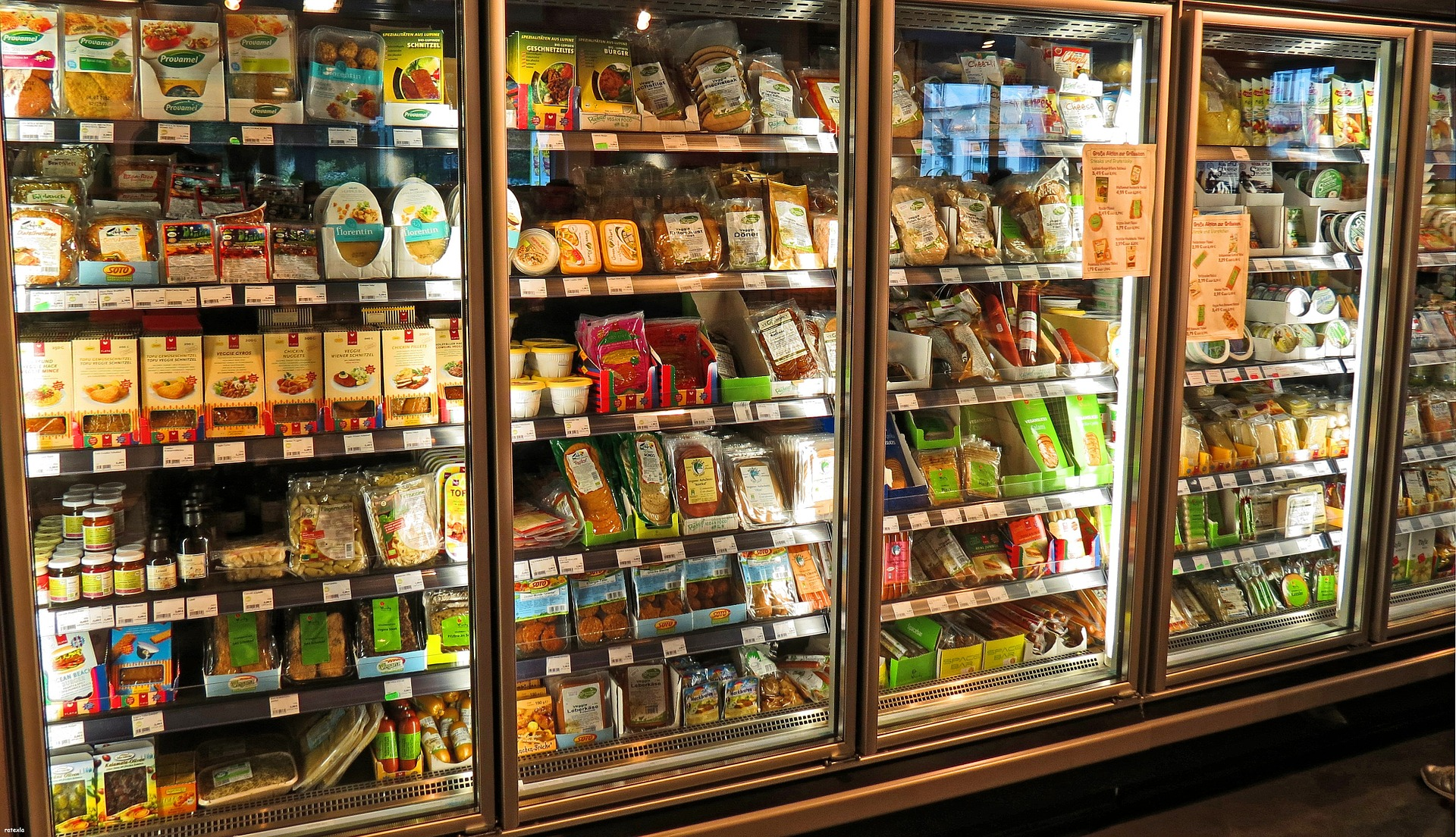 Time to stock the fridge. You head to the grocery store and reach for . . .