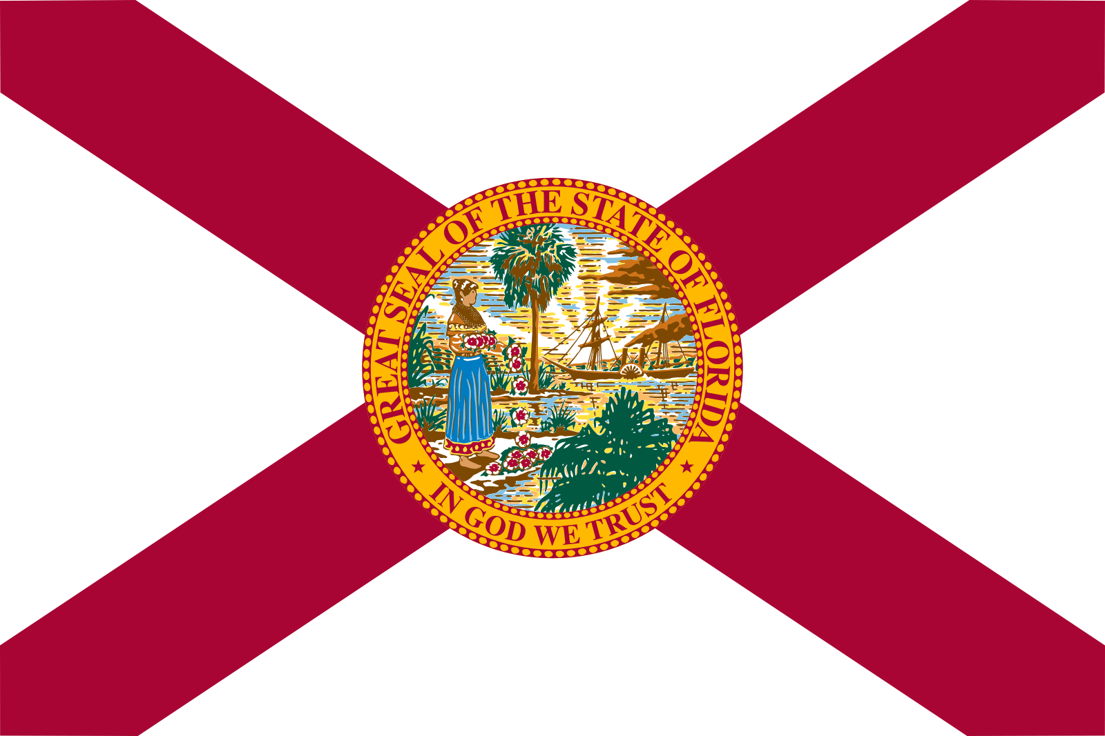 Who is the patron saint of Florida?