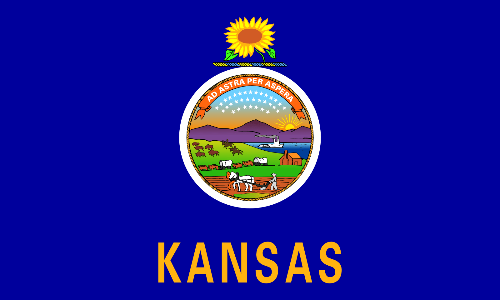 Who is the patron saint of Kansas?
