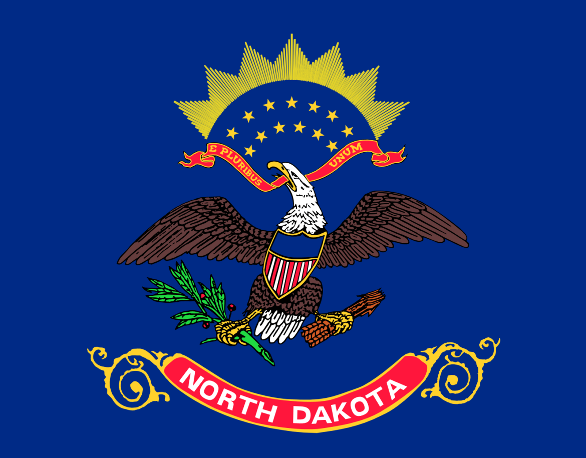 Who is the patron saint of North Dakota?