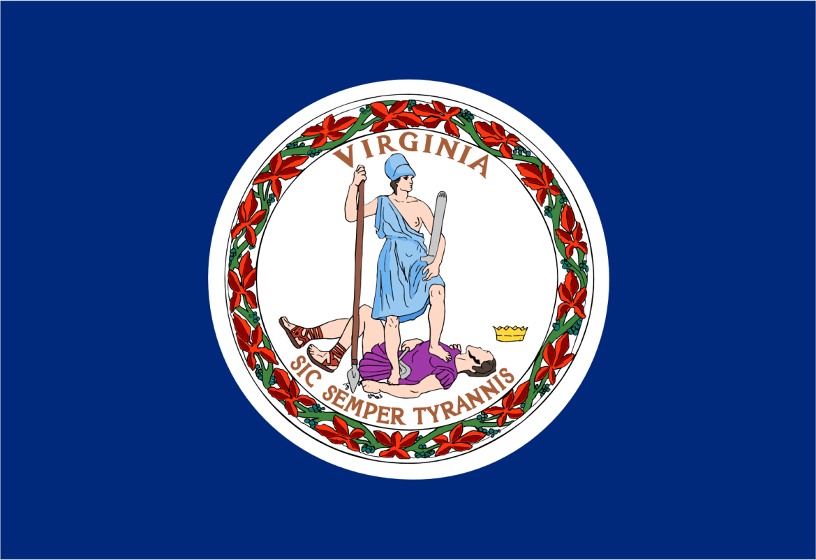 Who is the patron saint of Virginia?