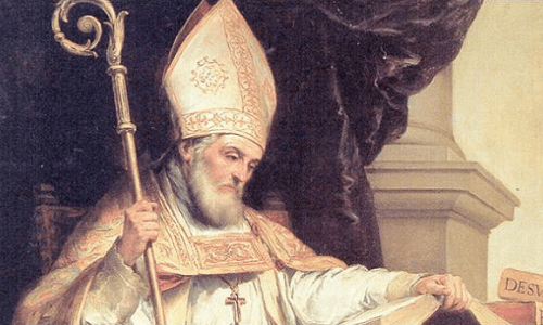 Saint Isidore of Seville was born in 560, so it's interesting that he's the patron saint of...