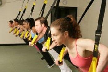 TRX system workout