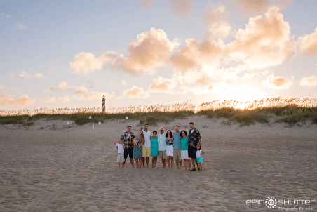 Cape Hatteras Lighthouse; Family Portraits at Sunset; Epic Shutter Photography; Family Photos; OBX Photographer; Outer Banks; NC; North Carolina; OBX Photographers; Family Beach Photos; OBX Family Photographer; Hatteras Island Family Photographer; Hatteras; Hatteras Family Photos; Family Photos at the LIghthouse; Buxton; Cape Hatteras National Seashore; Epic Family Photos; Family Photographer; Photographer; Visit Hatteras; Visit OBX; Visit Hatteras Island