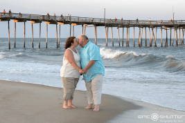 Epic Engagements, Engagement Portraits, Avon Fishing Pier, Avon, Hatteras Island, North Carolina, Epic Shutter Photography, Proposal, Beach Proposal, Surprise Proposal, Cape Hatteras National Seashore, Engagement Ring, Outer Banks Wedding Photographers, Outer Banks Engagements, OBX Photographers, Hatteras Island Wedding Photographers