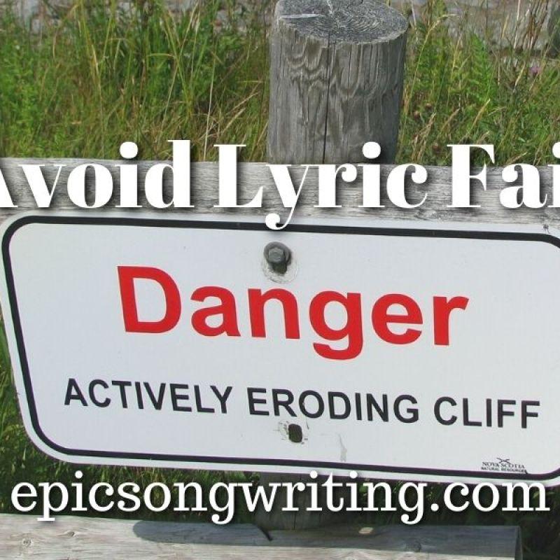 Avoid Lyric Fail