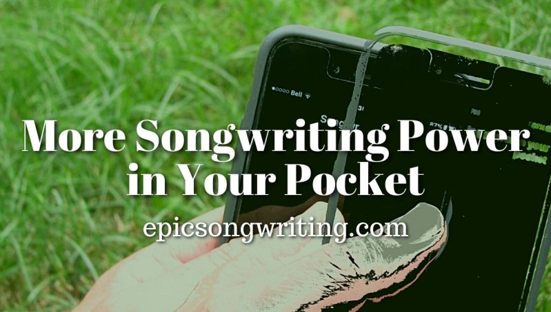 More Songwriting Power in Your Pocket