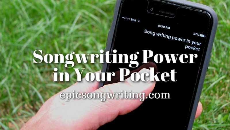 Songwriting Power in your Pocket