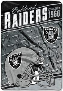 Northwest NFL Raiders Stagger Oversized Throw - Fan Gear