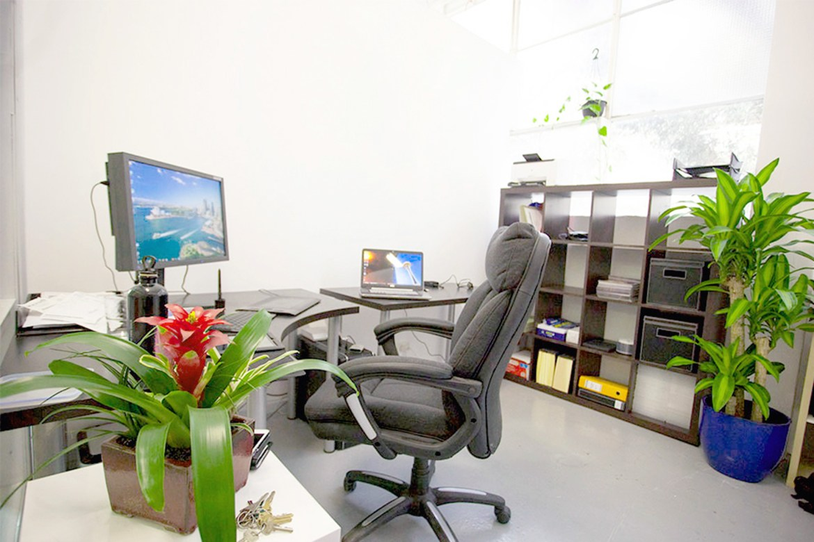 Creative office in photography studio melbourne
