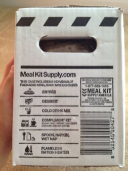 MRE Box Side