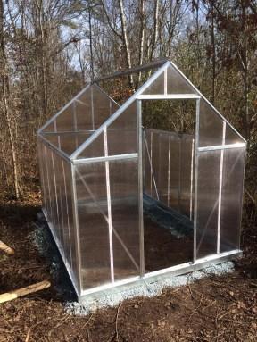 Palram Mythos Greenhouse Pre Roof