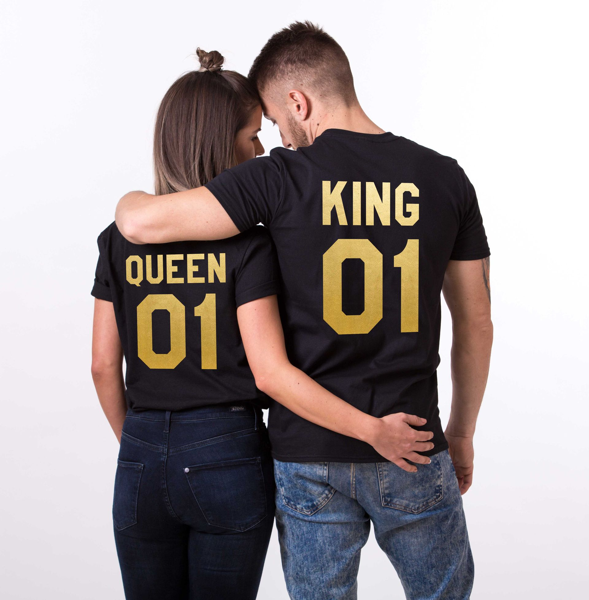 Queen King 01 Matching Couples Shirts Unisex Shirts