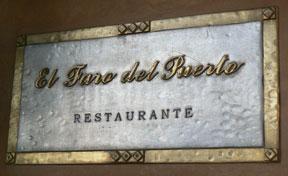 El Faro Restaurante in El Puerto de Santa Maria, Spain