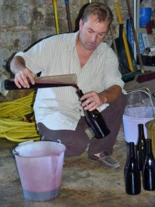 Phillippe blending wine