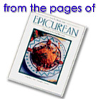 Cover of the May-june issue of Epicurean magazine