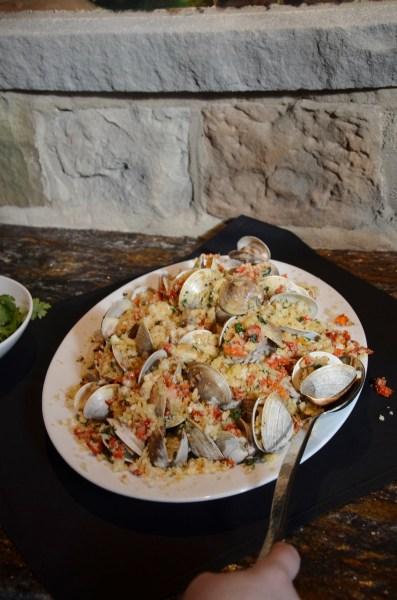 Fabulous seafood dish!