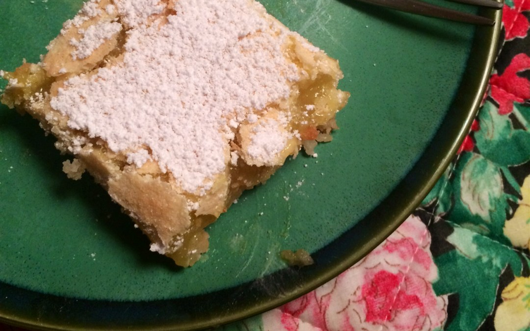 A Year in My Kitchen: March — Lemon Squares