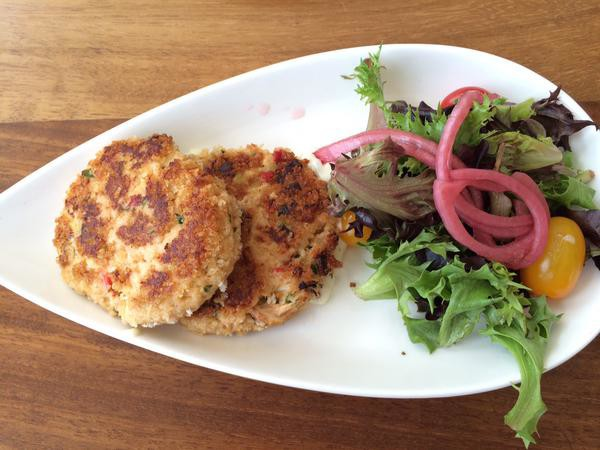Crab Cakes at Echo.